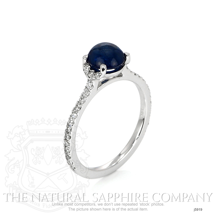 1.39ct Blue Sapphire Ring Image 2