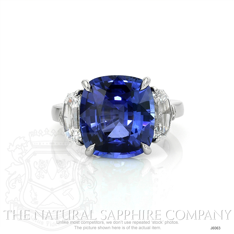 8.45ct Blue Sapphire Ring Image