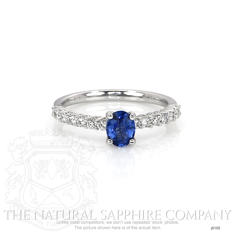 0.57ct Blue Sapphire Ring Image