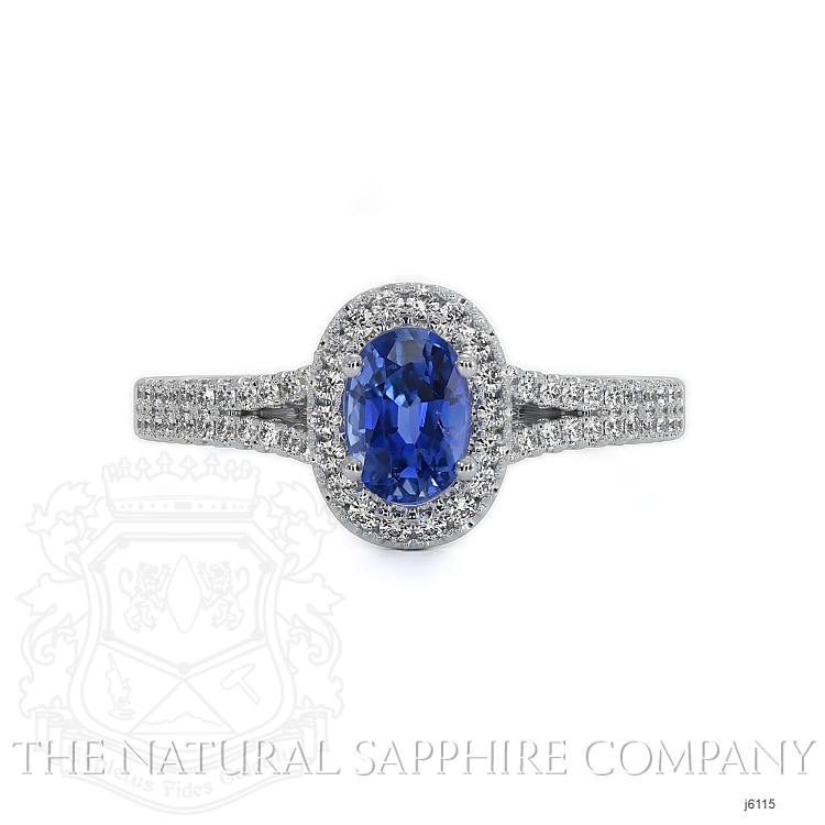 0.50ct Blue Sapphire Ring Image