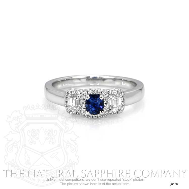 0.41ct Blue Sapphire Ring Image