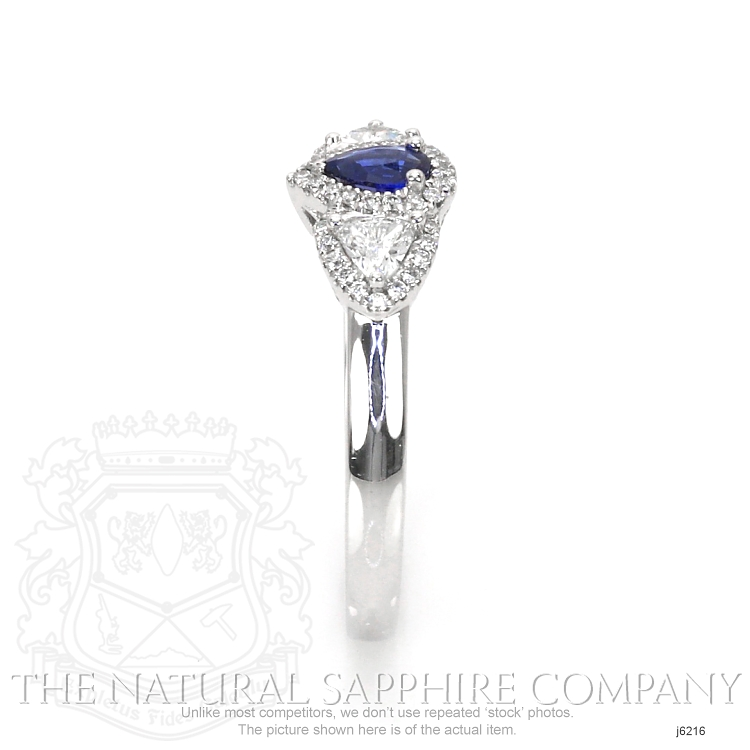 0.20ct Blue Sapphire Ring Image 3