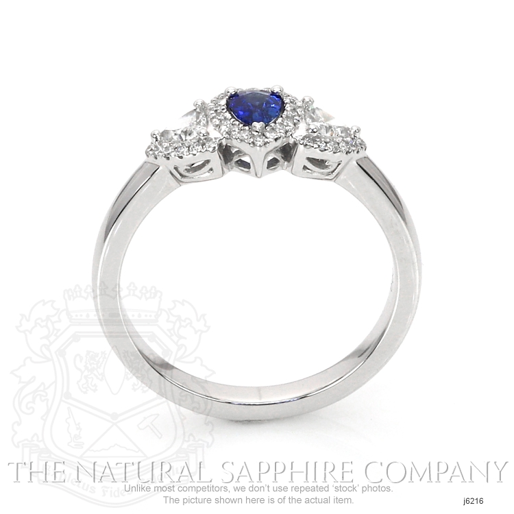 0.20ct Blue Sapphire Ring Image 4