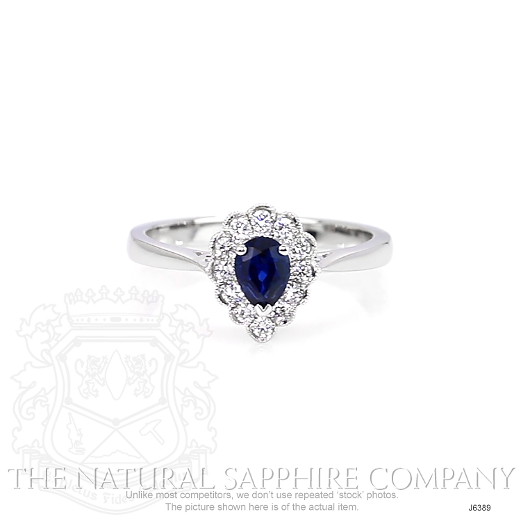 0.46ct Blue Sapphire Ring Image