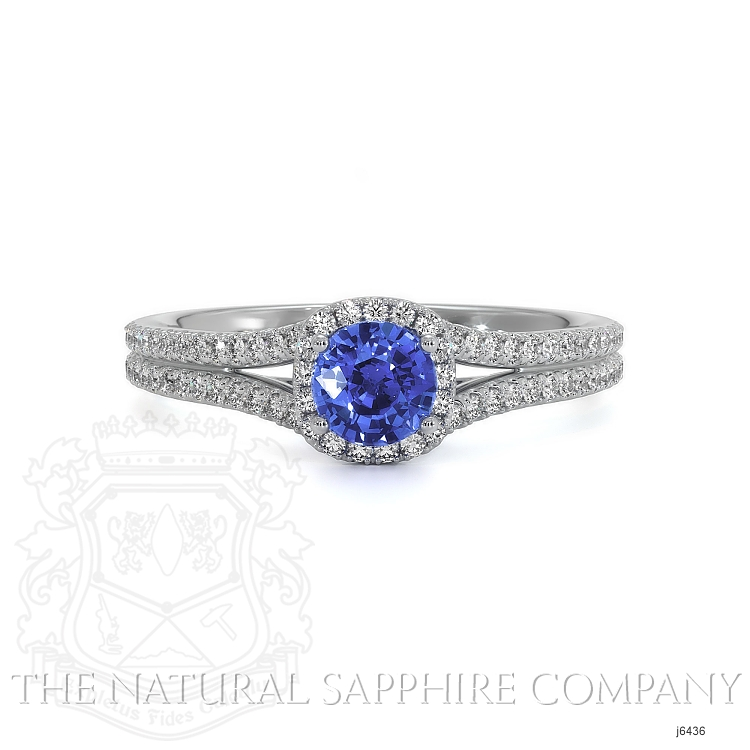 0.68ct Blue Sapphire Ring Image