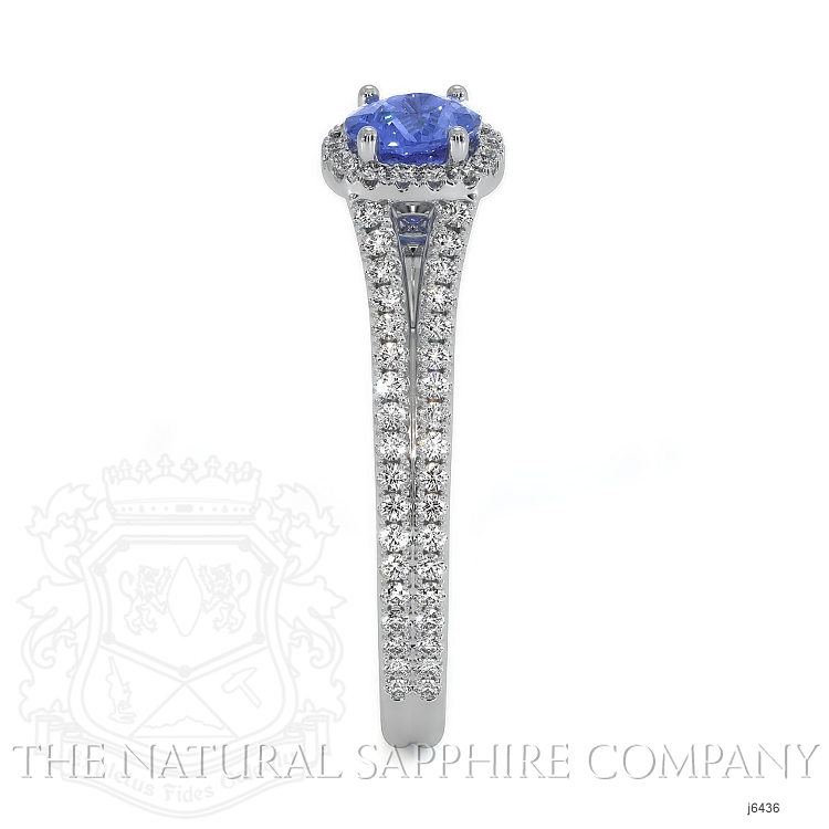 0.68ct Blue Sapphire Ring Image 3