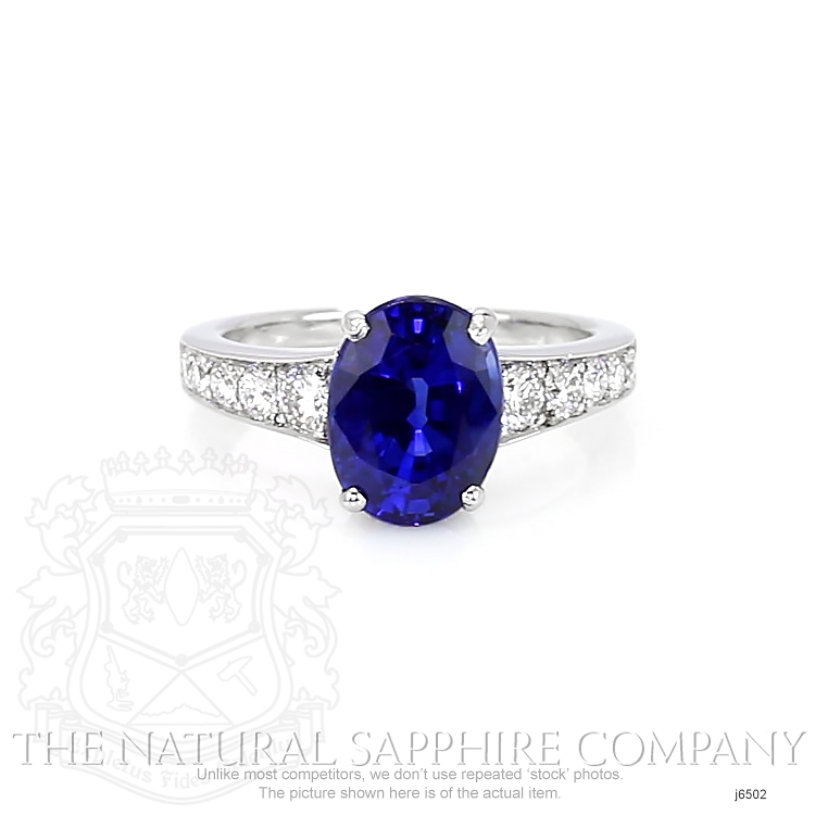 4.27ct Blue Sapphire Ring Image