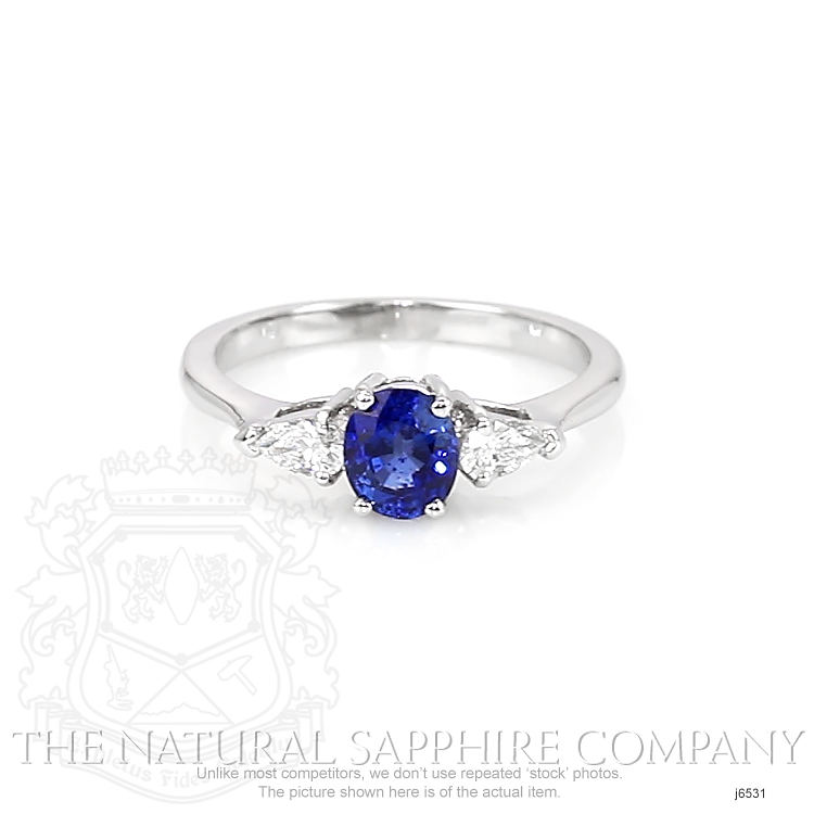 0.83ct Blue Sapphire Ring Image