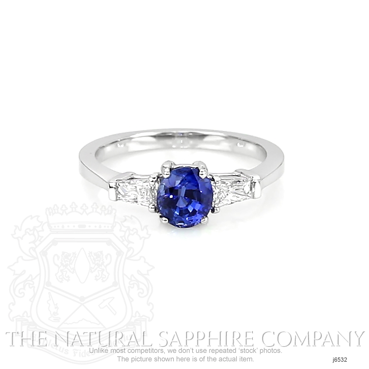 1.04ct Blue Sapphire Ring Image