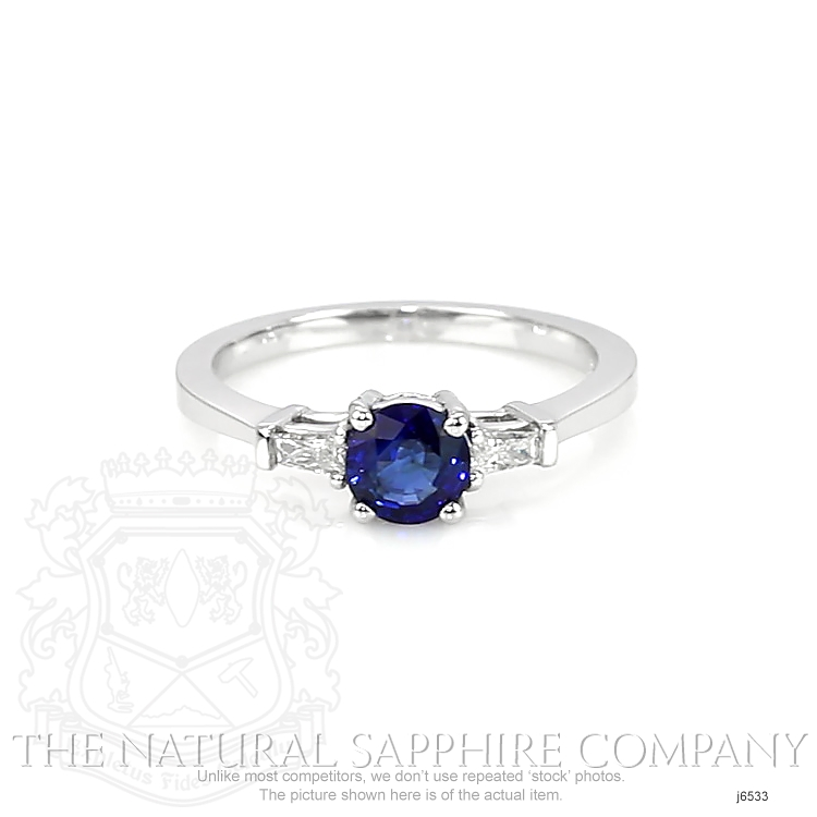 0.84ct Blue Sapphire Ring Image