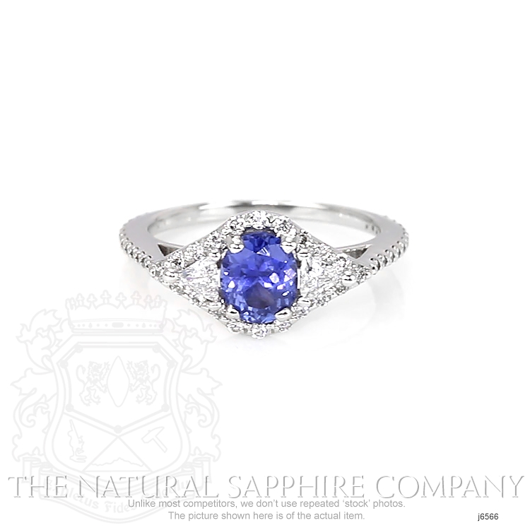 1.07ct Blue Sapphire Ring Image