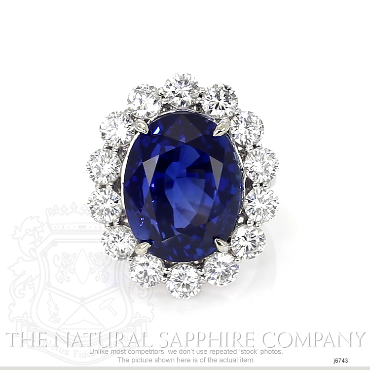 23.66ct Blue Sapphire Ring Image