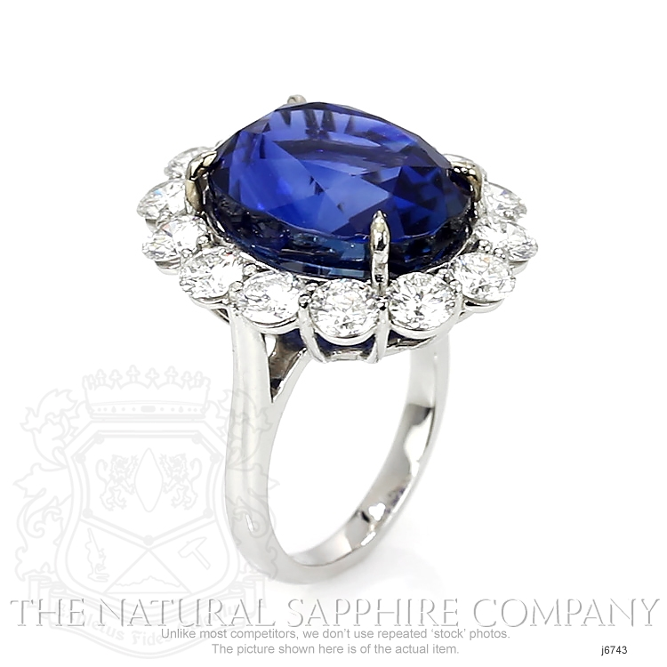 23.66ct Blue Sapphire Ring Image 2