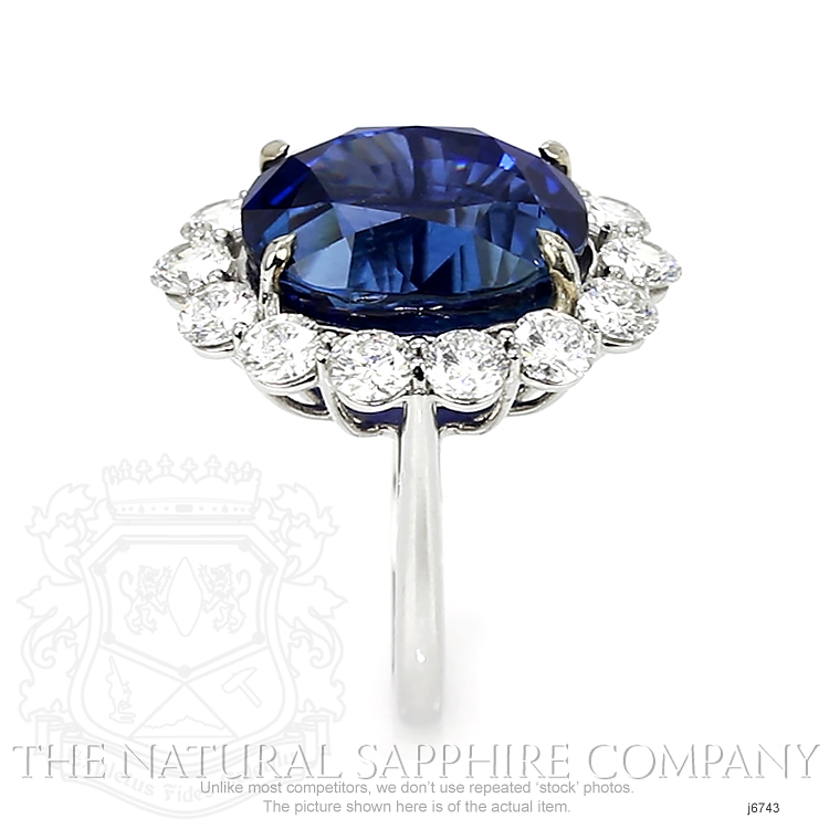23.66ct Blue Sapphire Ring Image 3