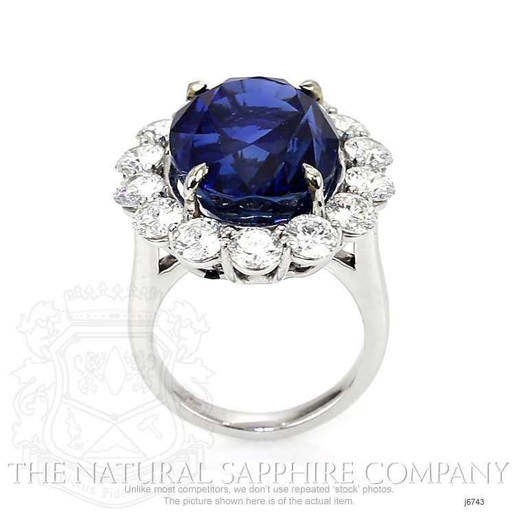 23.66ct Blue Sapphire Ring Image 4