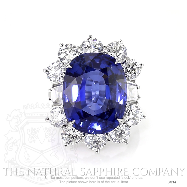 22.42ct Blue Sapphire Ring Image