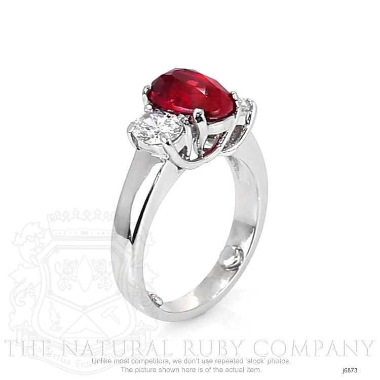 3.04ct Ruby Ring Image 2