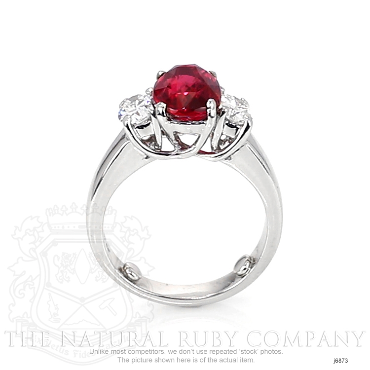 3.04ct Ruby Ring Image 4
