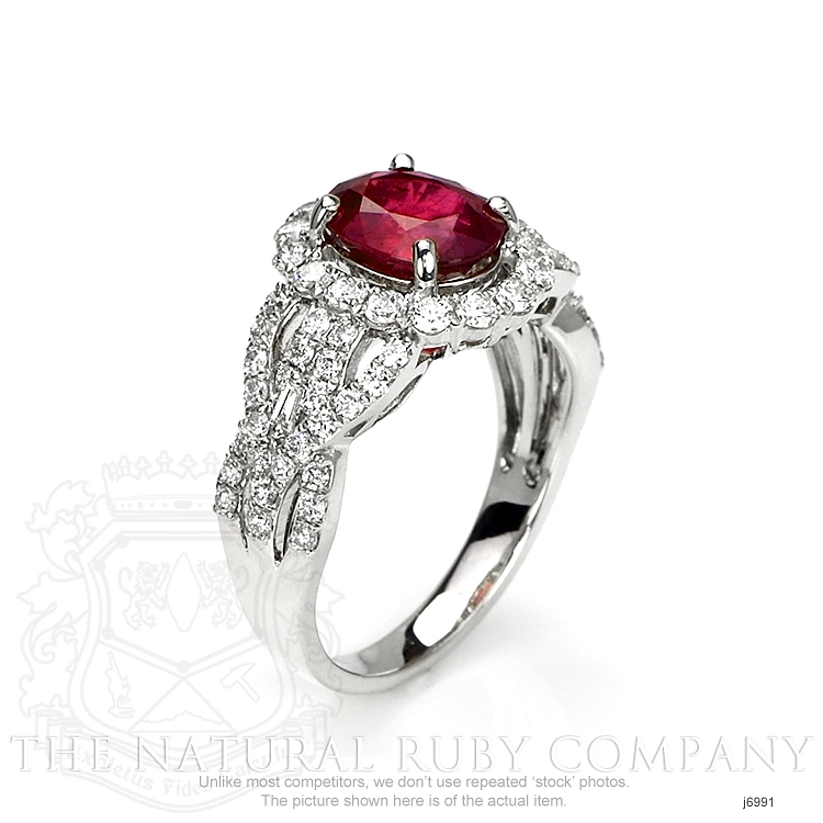 2.08ct Ruby Ring Image 2