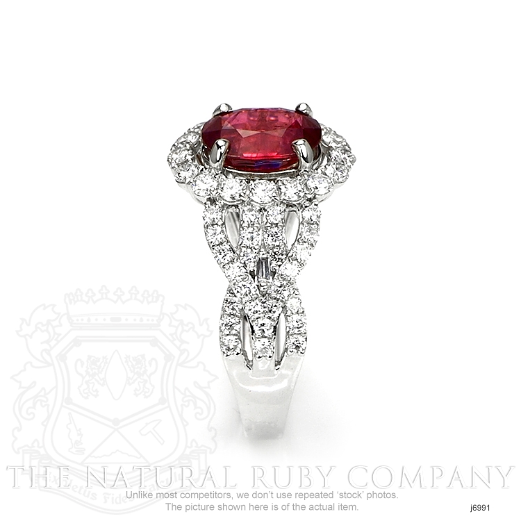 2.08ct Ruby Ring Image 3