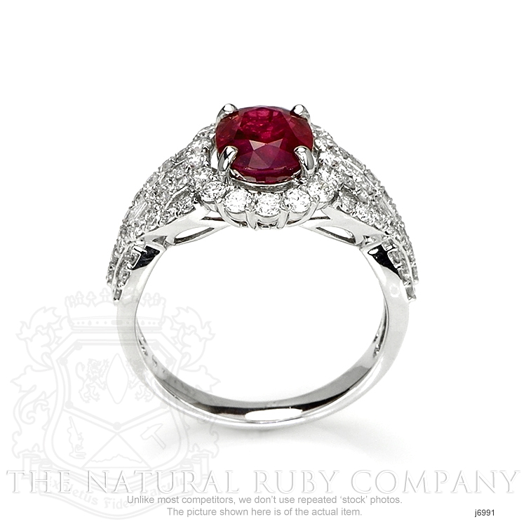 2.08ct Ruby Ring Image 4