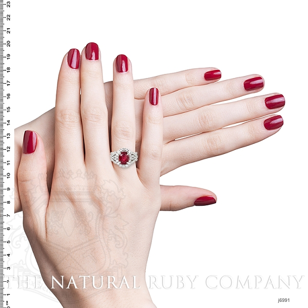 2.08ct Ruby Ring Image 5