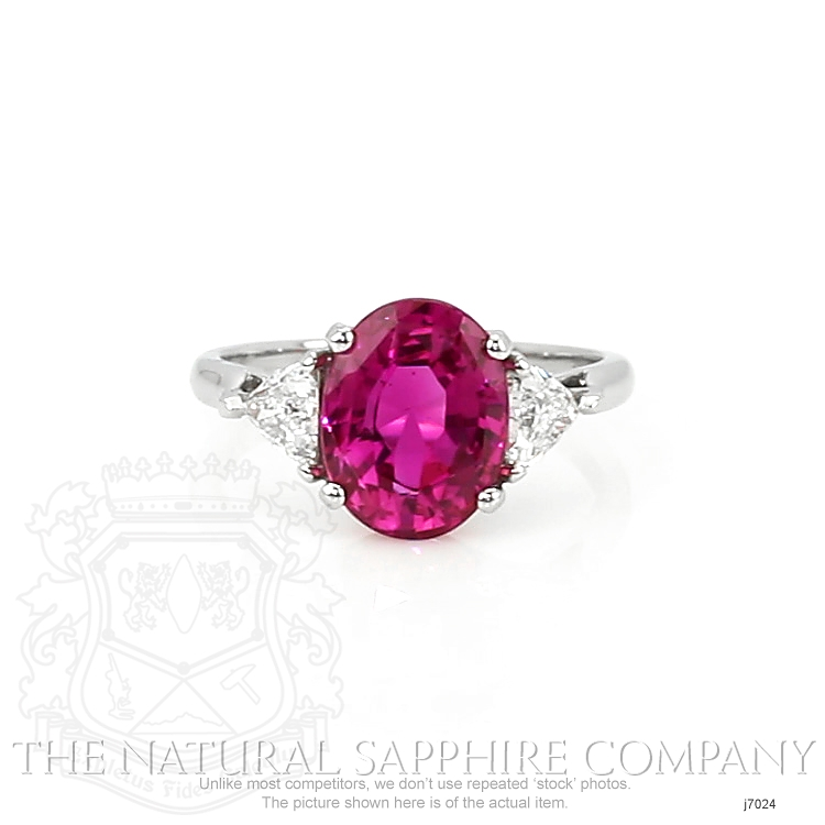 4.36ct Pink Sapphire Ring Image