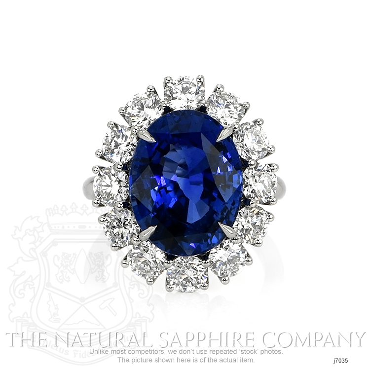 9.64ct Blue Sapphire Ring Image