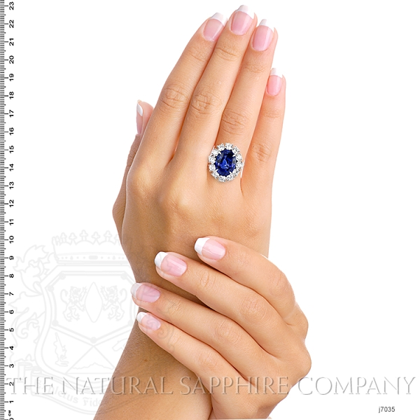 9.64ct Blue Sapphire Ring Image 5