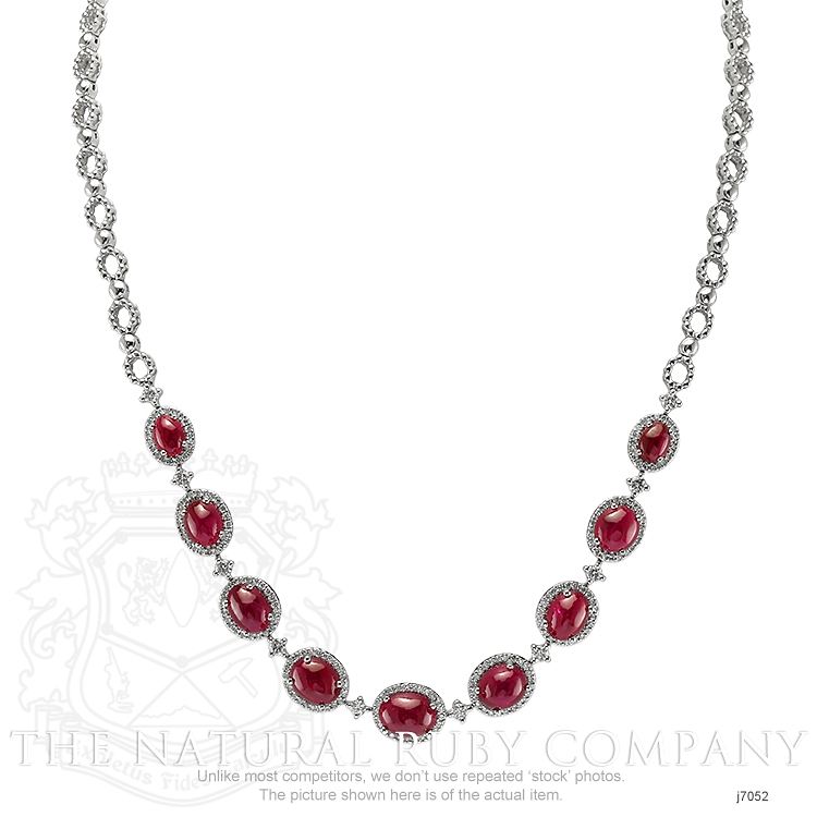 19.48ct Ruby Necklace Image