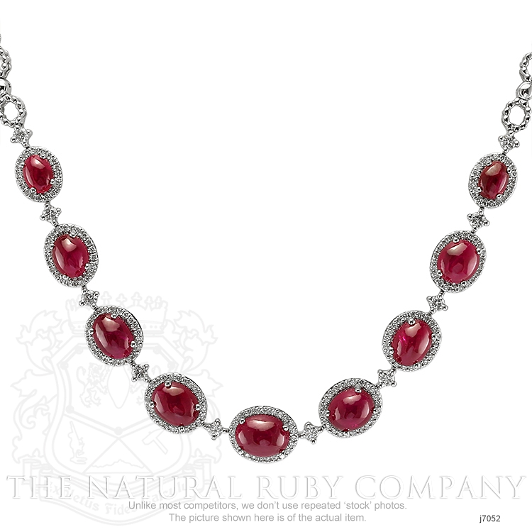 19.48ct Ruby Necklace Image 2