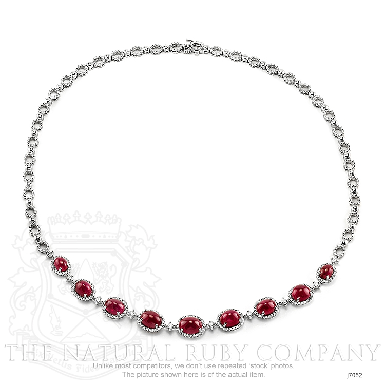 19.48ct Ruby Necklace Image 3
