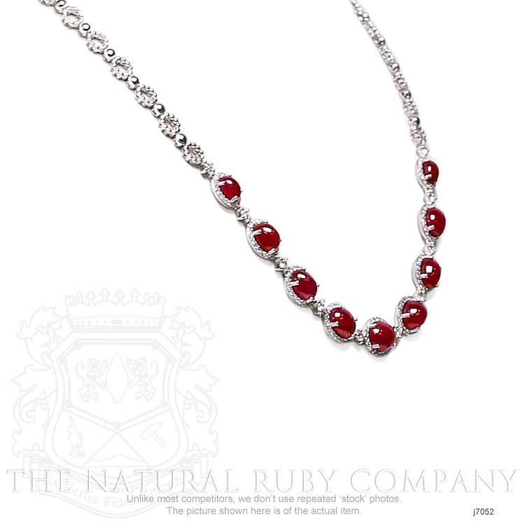 19.48ct Ruby Necklace Image 4