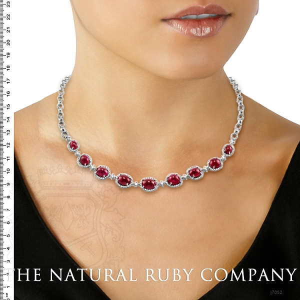 19.48ct Ruby Necklace Image 5