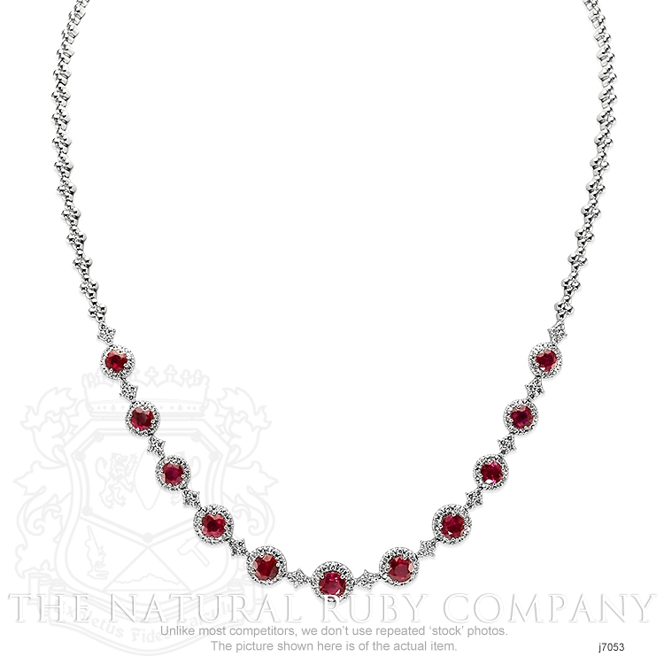 4.51ct Ruby Necklace Image