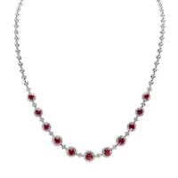 4.51ct Ruby Necklace - J7053