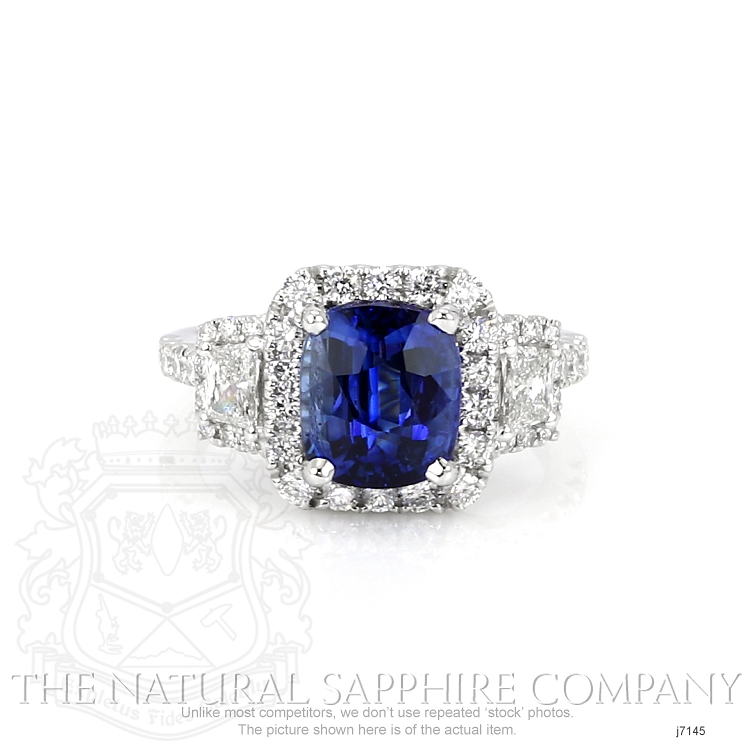 3.68ct Blue Sapphire Ring Image