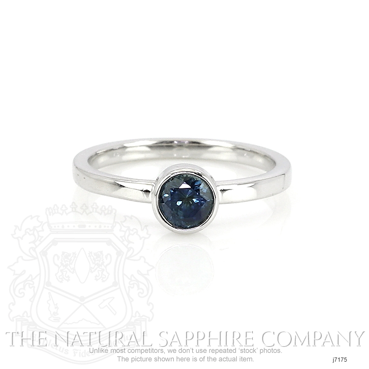 0.72ct Blue Sapphire Ring Image