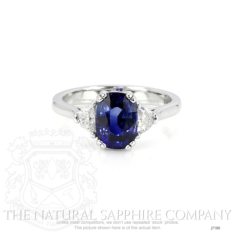 2.42ct Blue Sapphire Ring Image
