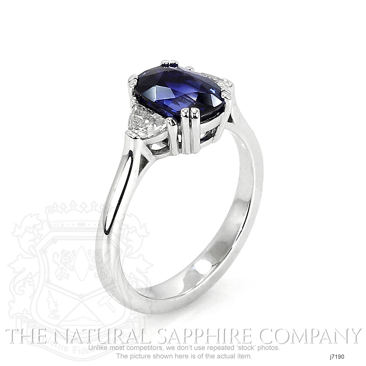2.42ct Blue Sapphire Ring Image 2