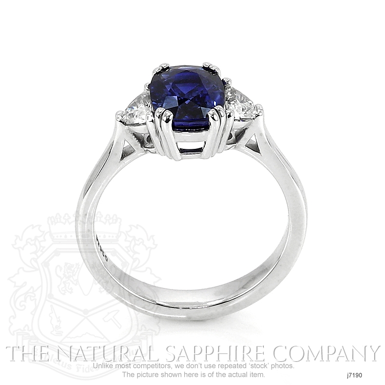 2.42ct Blue Sapphire Ring Image 4