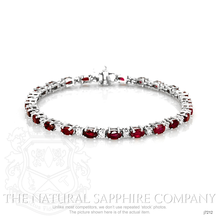 7.65ct Ruby Bracelet Image