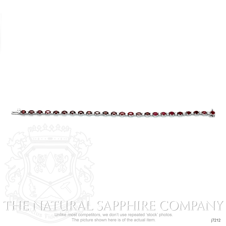 7.65ct Ruby Bracelet Image 2