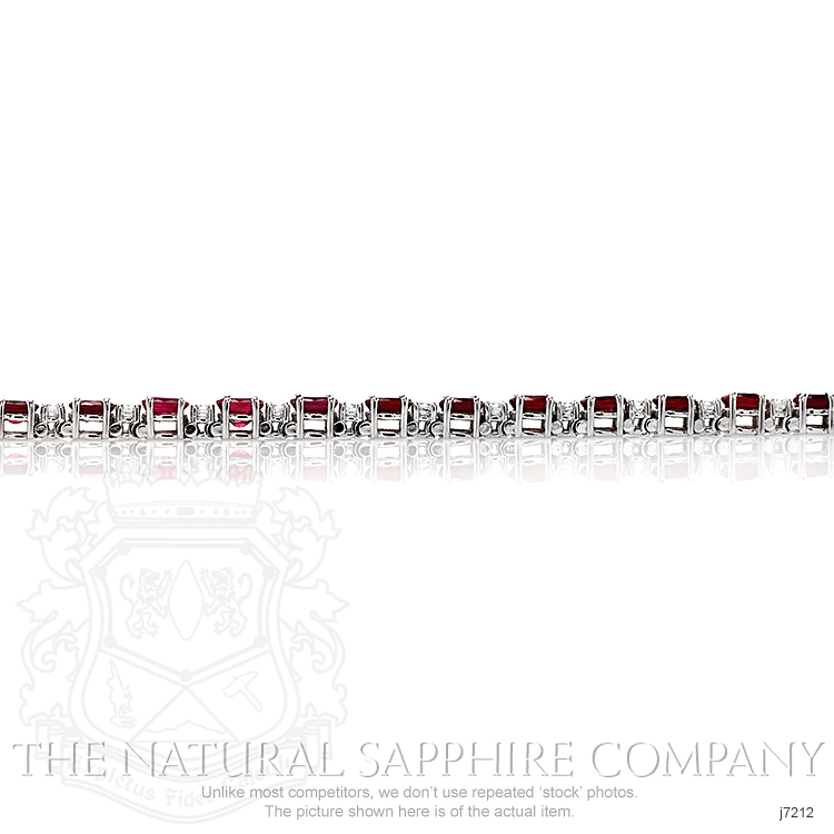 7.65ct Ruby Bracelet Image 3