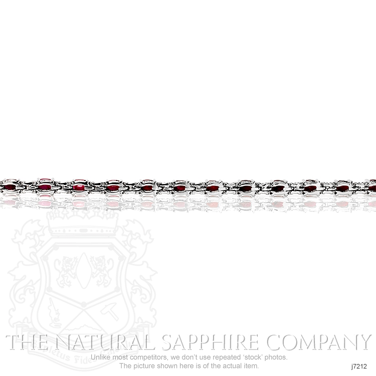 7.65ct Ruby Bracelet Image 4