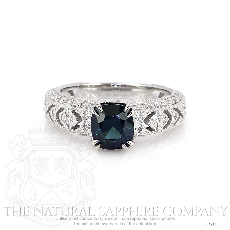 1.73ct Blue Sapphire Ring Image