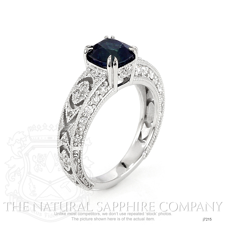 1.73ct Blue Sapphire Ring Image 2