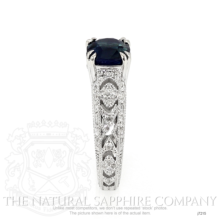 1.73ct Blue Sapphire Ring Image 3
