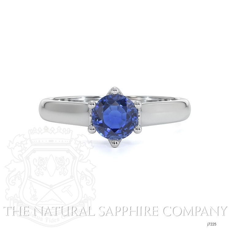 0.73ct Blue Sapphire Ring Image