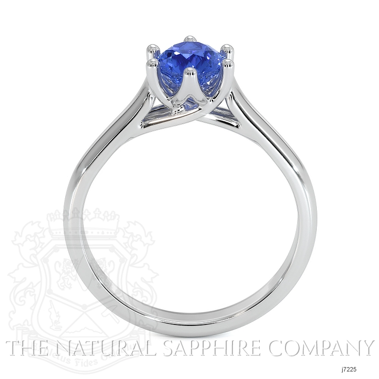 0.73ct Blue Sapphire Ring Image 4